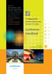 Conference Handbook - DC Conferences