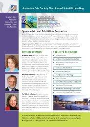 Sponsorship and Exhibition Prospectus ... - DC Conferences