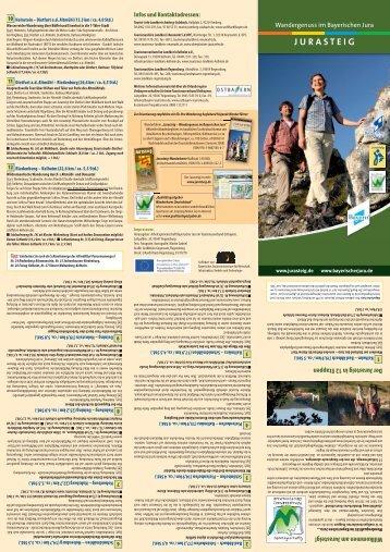 JURASTEIG - Tourismusverband im Landkreis Kelheim