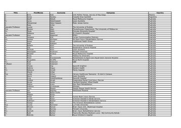 Delegate list 07.05.2012 - DC Conferences