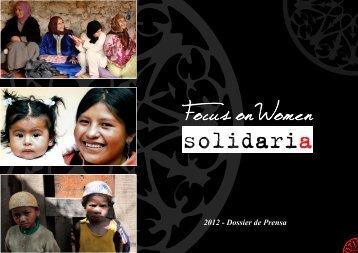 Dossier Prensa FOW Solidaria 2012 - La Piazzetta Madrid