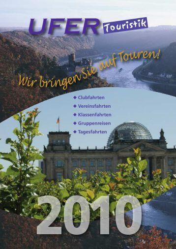 Reisetermin - Ufer Touristik