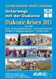 Diakonie-Reisen 2011 - Diakonie Heilbronn