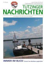 Download Heft 08-09 / Aug.-September 2012 - Tutzinger Nachrichten