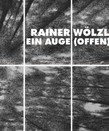 ein Auge, offen - Rainer Wölzl