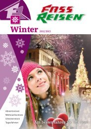 Winter - Fass Reisen