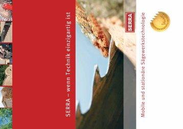 Katalog - Serra