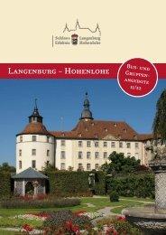 Sondtrführungtn – mit dem besonderen stwas - Schloss Langenburg