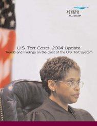 U.S. Tort Costs: 2004 Update