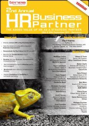 2nd HRBP - The Association of Executive Search Consultants