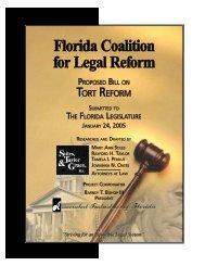 tort reform - Center for America