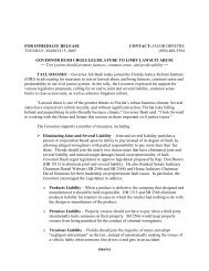Download Governor Bush's news release with specifics of ...