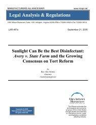 Legal Analysis & Regulations