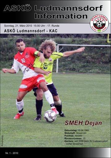 ASKÖ Ludmannsdorf Information - Sportverein Ludmannsdorf