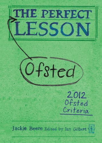 Ofsted Criteria - Crown House Publishing.