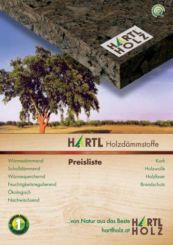 Preisliste - Hartl Holz