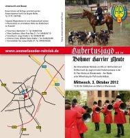 Mittwoch, 3. Oktober 2012 - Schleppjagd24