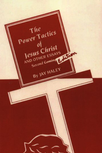The Power Tactics of Jesus Christ
