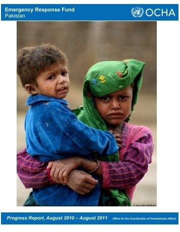 Emergency Response Fund Pakistan
