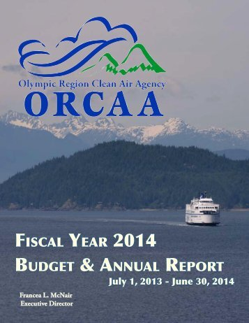 Fiscal Year 2014 Budget & annual report