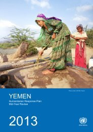 2013 Yemen Humanitarian Response Plan Mid-Year Review