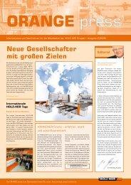 orange - HOLZ-HER Reich Spezialmaschinen - Orange Press