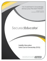 """Liability Education Total Cost of Ownership (TCO) """"An ... - Uniguest"""