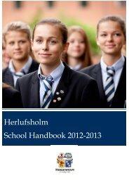 Herlufsholm School Handbook 2012-2013