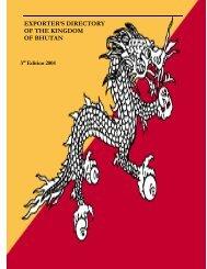 OF THE KINGDOM OF BHUTAN