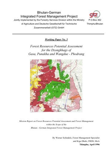 FOREST RESOURCES POTENTIAL ASSESSMENT FOR GASA ...