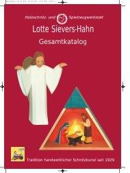 Krippenfiguren in 72 cm als Sonderanfertigung. - Lotte Sievers Hahn