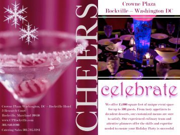 Holiday Party Packages - Crowne Plaza Rockville