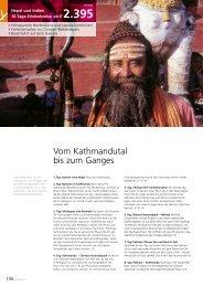 Vom Kathmandutal bis zum Ganges - Gebeco