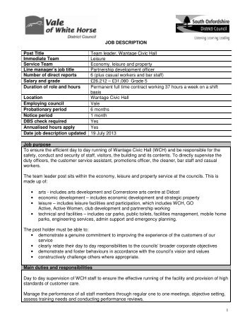Job Description Job Title Recruitment Services Team Leader
