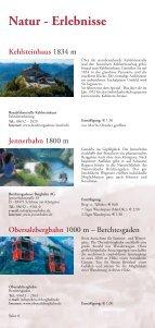 Natur - Erlebnisse - Gemeinde Bischofswiesen - Seite 6