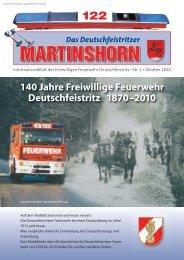 8121 Deutschfeistritz - Freiwillige Feuerwehr Deutschfeistritz