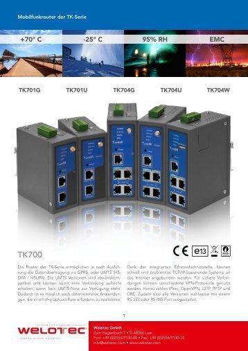 Technische Details Konfigurationswerkzeuge Verbindungsüberprüfung
