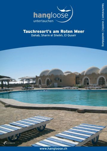 Tauchresort's am Roten Meer - Hang Loose Travel