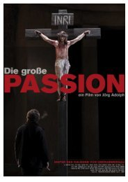 die grosse passion - Film