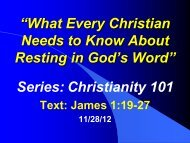 """""""What Every Christian Needs to Know About Resting in God's Word ..."""