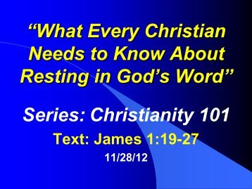 """What Every Christian Needs to Know About Resting in God's Word ..."