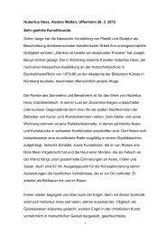 Rede zur Ausstellungseröffnung - Andrea Brandl - Christian von ...