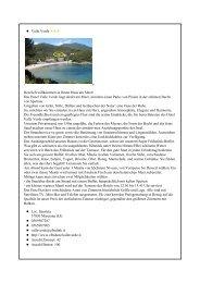 Valle Verde Herzlich willkommen in Ihrem Haus am Meer ... - Elba link