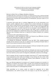 Intervention Groupe socialiste CM budget 28_03_13