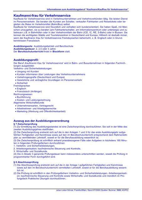 Pdf Datei Julius Leber Schule Frankfurtmain