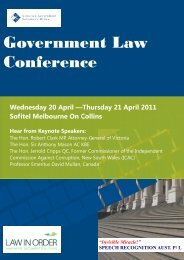 Government Law Conference
