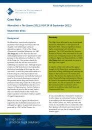 Case Note - Momcilovic v The Queen.pdf - Victorian Government ...