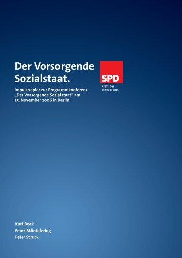 Der Vorsorgende Sozialstaat