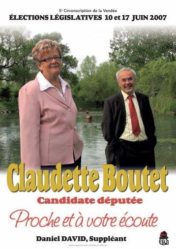 Télécharger - Claudette Boutet - Parti socialiste
