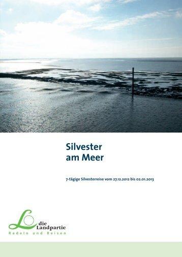 Silvester am Meer - Die Landpartie Radeln und Reisen GmbH
